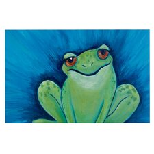 Ribbit Ribbit by Padgett Mason Decorative Doormat
