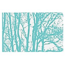 Mint Trees by Monika Strigel Decorative Doormat