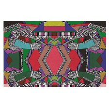 African Motif by Vasare Nar Decorative Doormat
