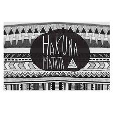 Hakuna Matata by Vasare Nar Decorative Doormat