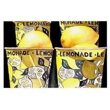 Lemonade by Rosie Brown Decorative Doormat