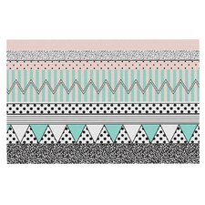 Chevron Motif by Vasare Nar Decorative Doormat