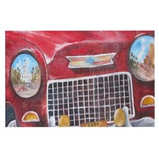 Vintage in Cuba by Rosie Brown Decorative Doormat