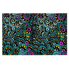 Peacock Tail by Pom Graphic Design Decorative Doormat