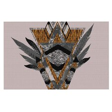 Indian Feather by Vasare Nar Decorative Doormat