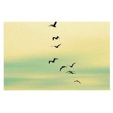Across The Endless Sea by Robin Dickinson Birds Decorative Doormat