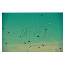 Blessed by Robin Dickinson Birds Decorative Doormat