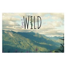 Keep it Wild by Robin Dickinson Decorative Doormat