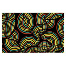 Infinite Depth by Pom Graphic Design Decorative Doormat