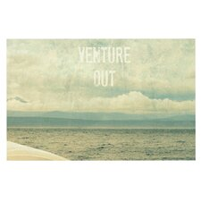Venture Out by Robin Dickinson Boat Decorative Doormat