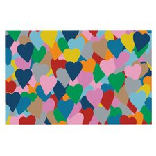 More Hearts by Project M Decorative Doormat