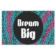 Dream Big by Pom Graphic Design Decorative Doormat