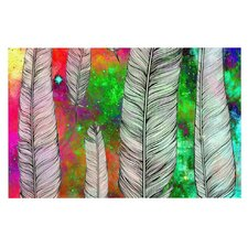 Feather by Suzanne Carter Space Decorative Doormat