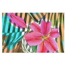Lilly n Stripes by S. Seema Z Decorative Doormat