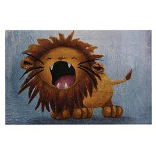 Dandy Lion by Rachel Kokko Decorative Doormat