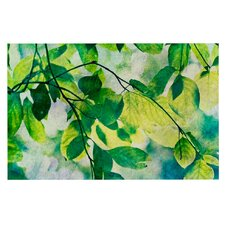 Leaves by Sylvia Cook Decorative Doormat