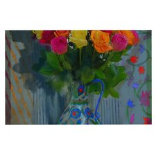 Spring Bouquet by S. Seema Z Flowers Decorative Doormat