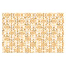 Diamonds by Apple Kaur Designs Squares Decorative Doormat