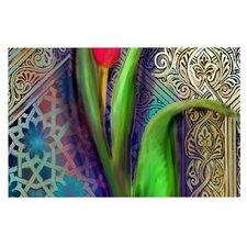 Arabesque Tulip by S. Seema Z Decorative Doormat