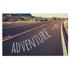 Adventure by Sylvia Cook Desert Road Decorative Doormat