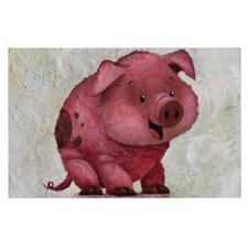 This Little Piggy by Rachel Kokko Decorative Doormat