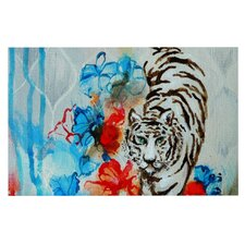 Tiger by Sonal Nathwani Decorative Doormat