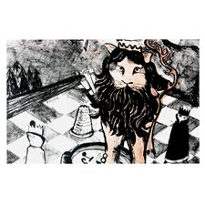 King Leo by Theresa Giolzetti Decorative Doormat