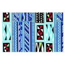 American Blanket Pattern by Vikki Salmela Decorative Doormat