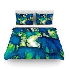 Leaves by Alison Coxon Light Cotton Duvet Cover