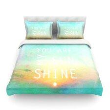 You Are My Sunshine by Alison Coxon Light Cotton Duvet Cover