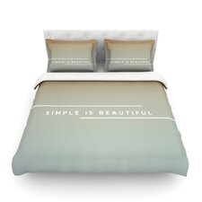Simple Beautiful Light by Galaxy Eyes Cotton Duvet Cover