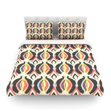 Bohemian Ikat by Amanda Lane Light Cotton Duvet Cover