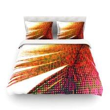 Feather Pop by Alison Coxon Light Cotton Duvet Cover