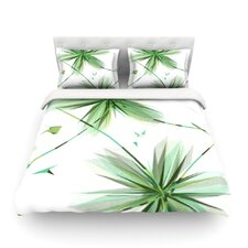 Flower by Alison Coxon Light Cotton Duvet Cover