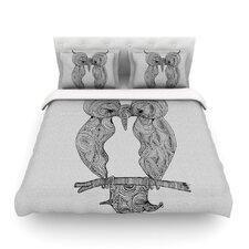 Owl by Belinda Gillies Light Cotton Duvet Cover