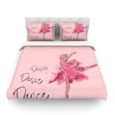 Ballerina by Brienne Jepkema Light Cotton Duvet Cover