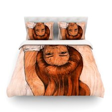 Girl by Brittany Guarino Light Cotton Duvet Cover