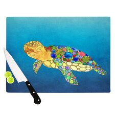Bubbles by Catherine Holcombe Turtle Cutting Board