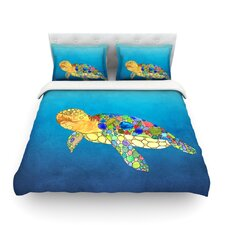 Bubbles by Catherine Holcombe Light Cotton Duvet Cover
