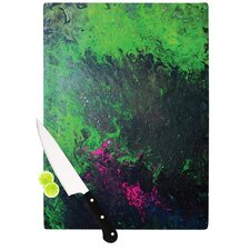 Acid Rain by Claire Day Cutting Board