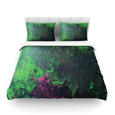 Acid Rain by Claire Day Light Cotton Duvet Cover
