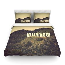 Hollywood by Catherine McDonald Light Cotton Duvet Cover