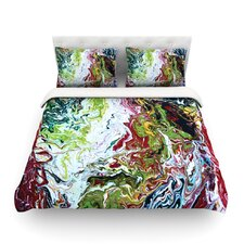Chaos by Claire Day Light Cotton Duvet Cover