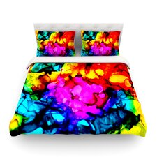 Sweet Sour by Claire Day Light Cotton Duvet Cover