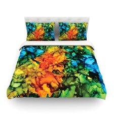 Lowry by Claire Day Light Cotton Duvet Cover