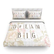 Dream Big by Debbra Obertanec Light Cotton Duvet Cover