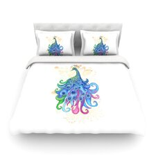 Peace by Catherine Holcombe Light Cotton Duvet Cover