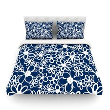 Daisy Lane by Emine Ortega Light Cotton Duvet Cover