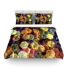 Warm Sparkle by Ingrid Beddoes Light Cotton Duvet Cover