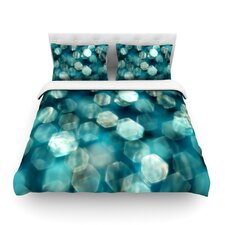Shades of Blue Light by Ingrid Beddoes Cotton Duvet Cover
